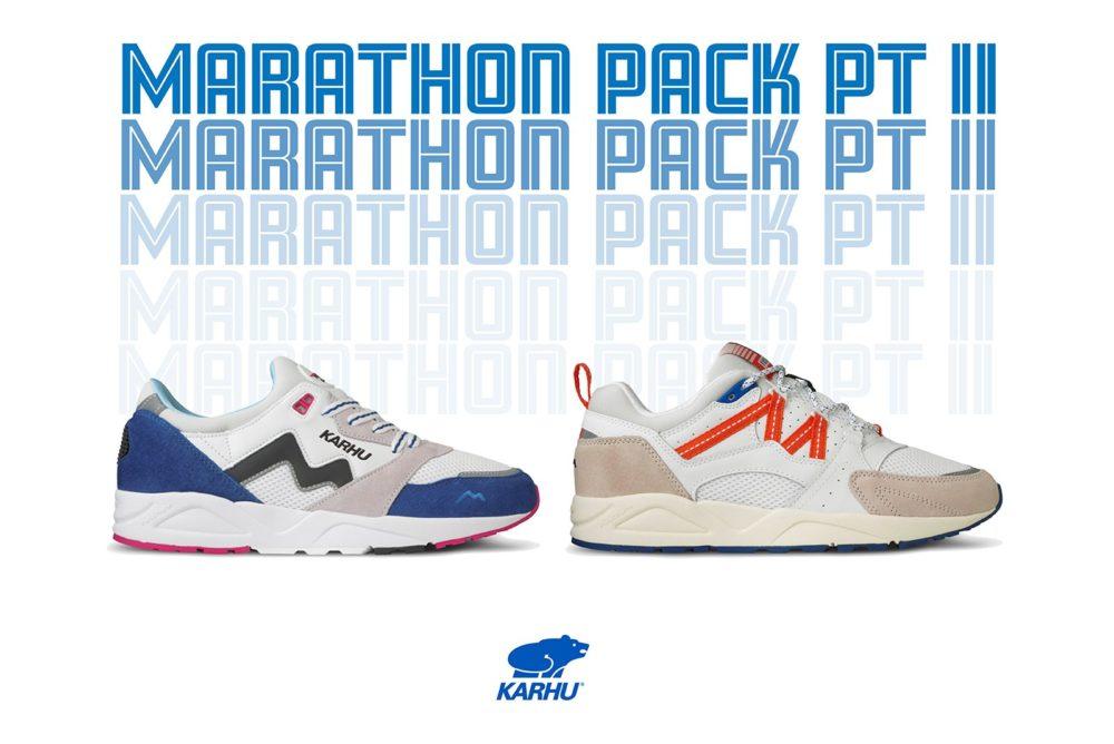 "Karhu Aria и Fusion 2.0 ""Marathon Pack"""