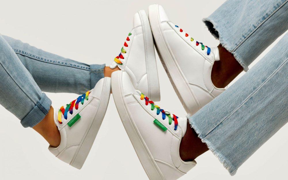 Первая коллекция кроссовок от Benetton