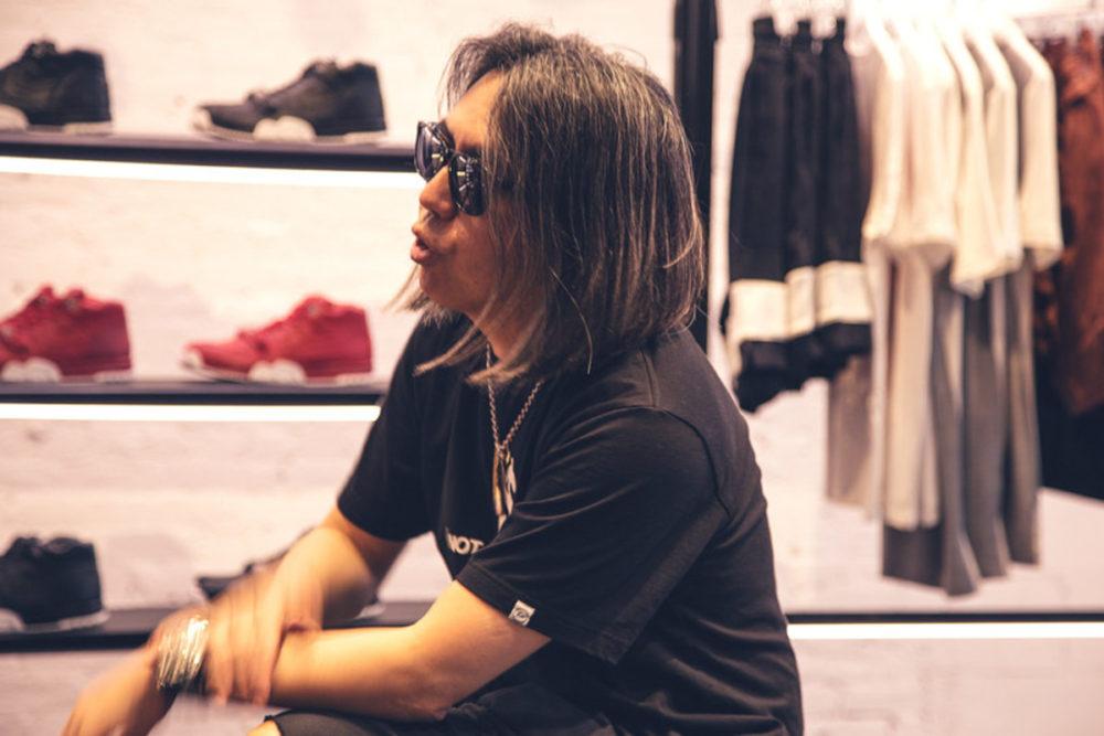Первое фото кроссовок fragment design x Jordan от Hiroshi Fujiwara
