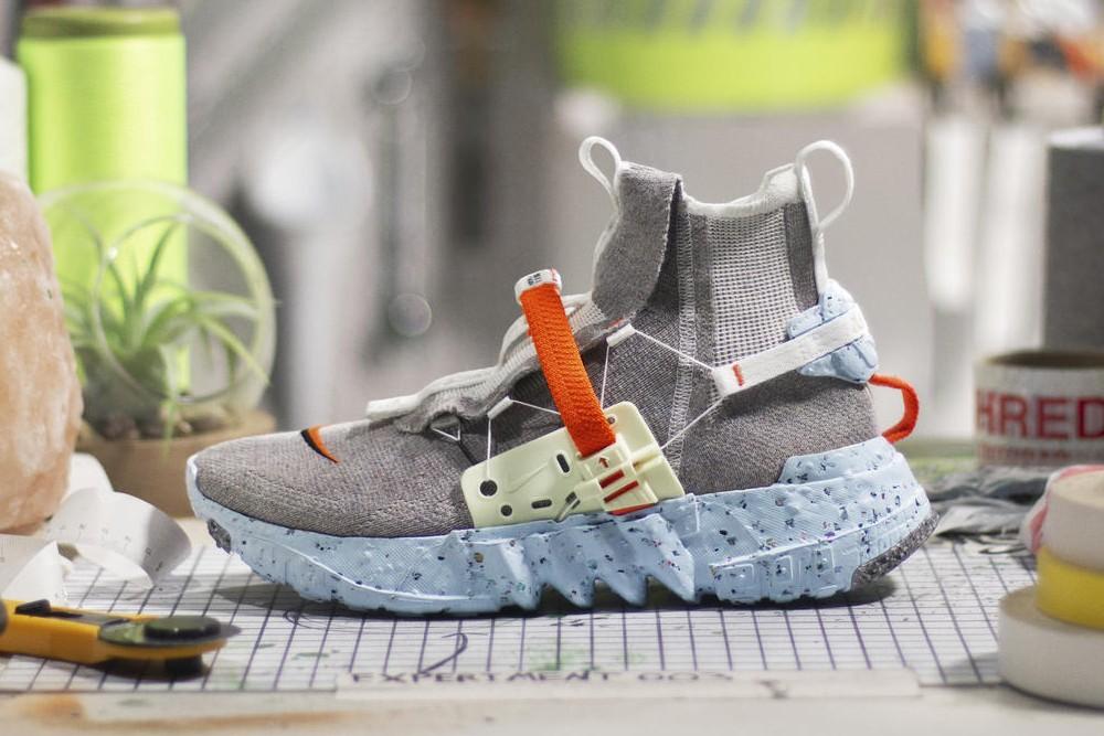 Коллекция кроссовок Nike Space Hippie из переработанных материалов