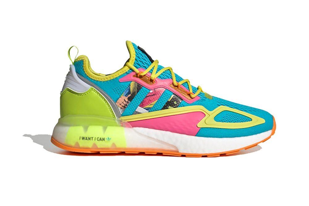 Adidas возвращает девиз «Я хочу, я могу» на модели Boost ZX 2K. Смелая палитра для последних недель лета