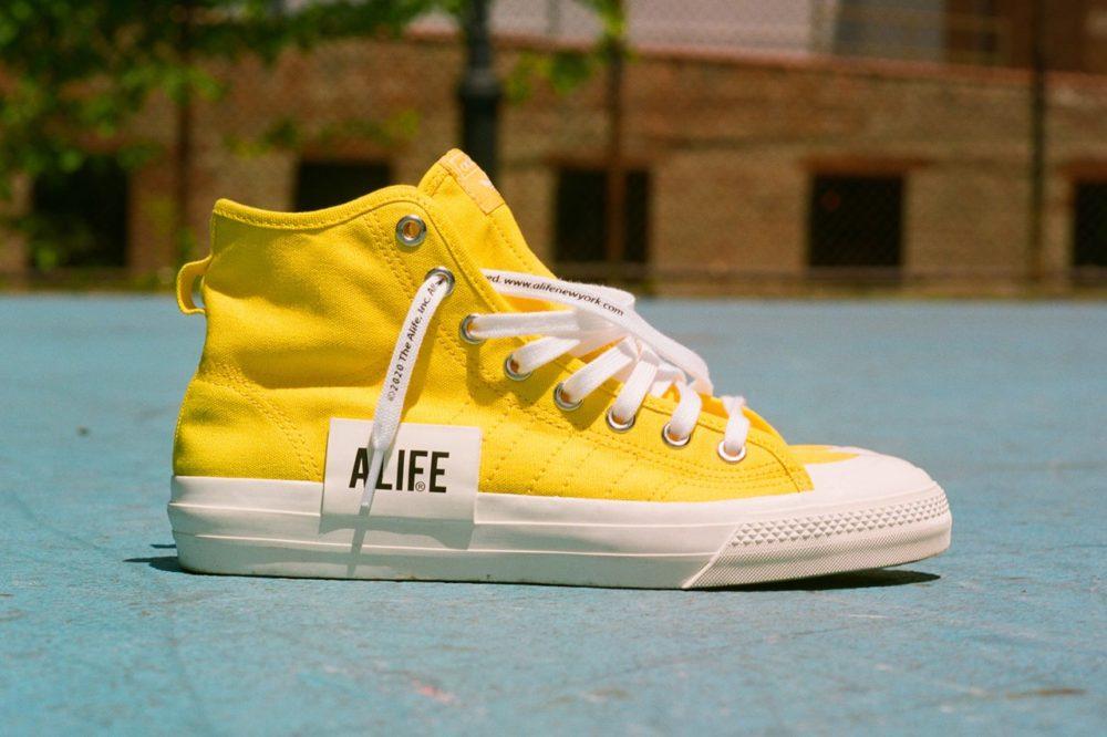 Высокие кеды Alife & adidas Nizza Hi