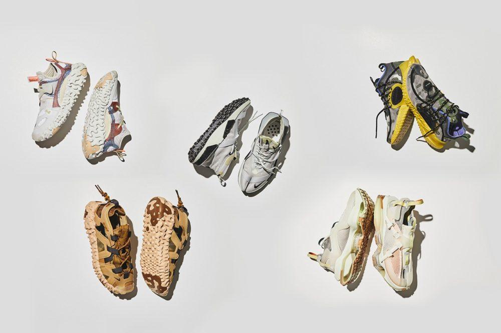 Концептуальная коллекция кроссовок Nike ISPA, сочетая в себе полезность и производительность