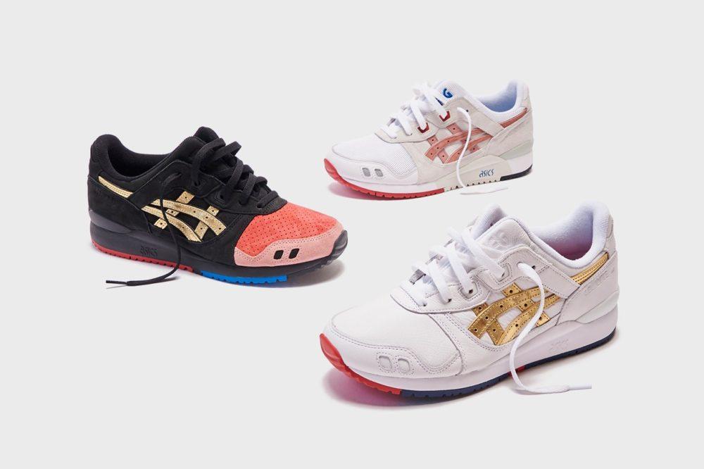 Ronnie Fieg и ASICS создали три цветов GEL-LYTE III: «252.1», «Yoshino Rose» и «Super Gold»