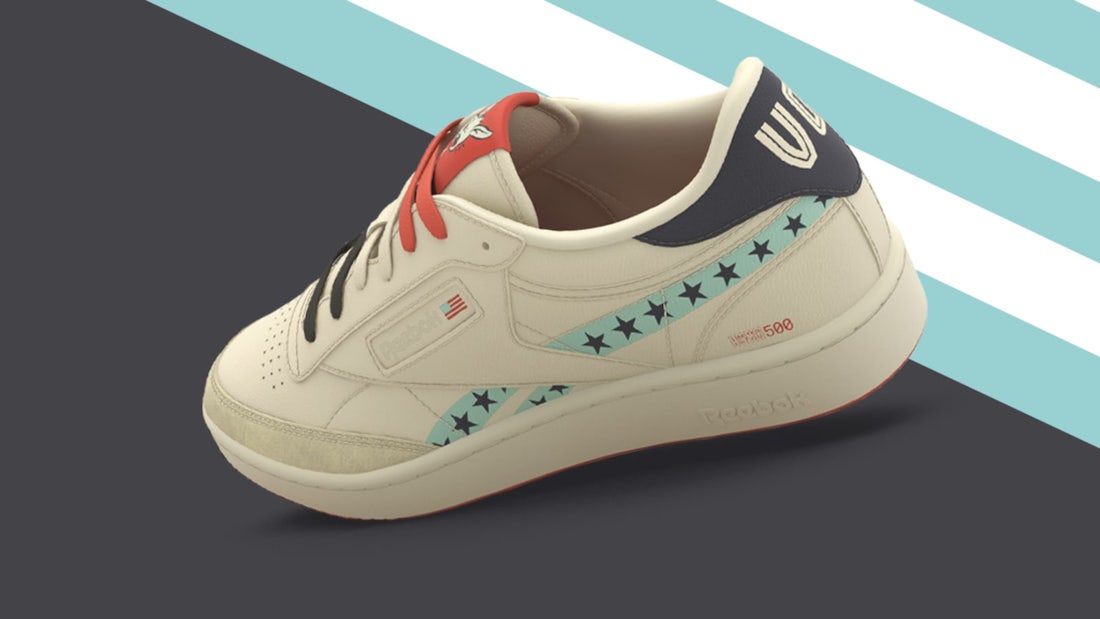 "Кроссовки Reebok Club C ""Vote"" из серии ""First Pitch"""