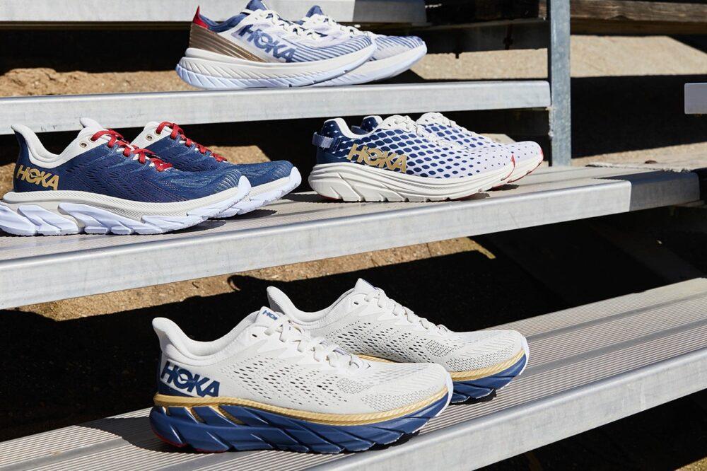 """Коллекция кроссовок HOKA ONE ONE на олимпийскую тематику """"Team Kit"""""""