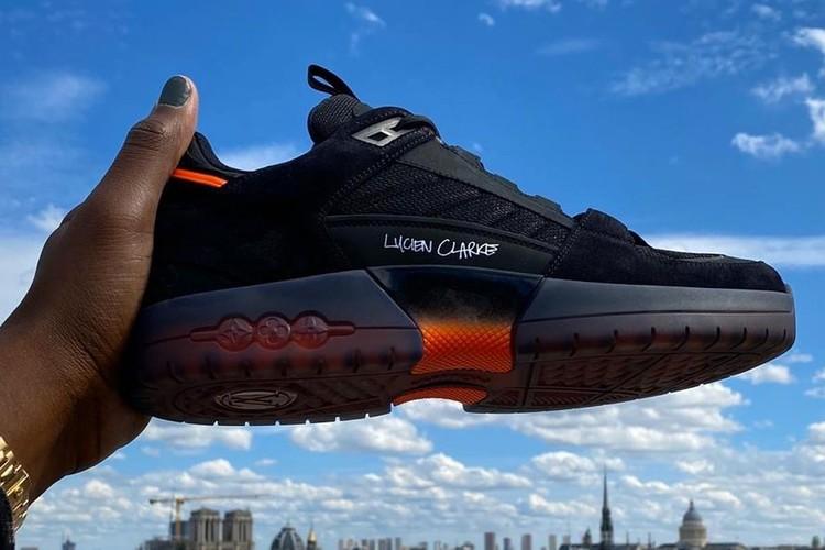 Кроссовки Louis Vuitton Clarke. Люсьен Кларк представил фирменную обувь для скейтбординга