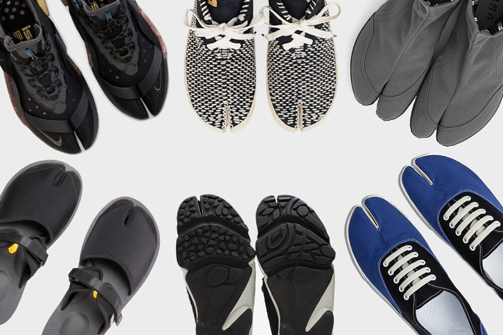 Обувь Tabi. Традиционный японский стиль нашел свое отражение в кроссовках и сандалиях