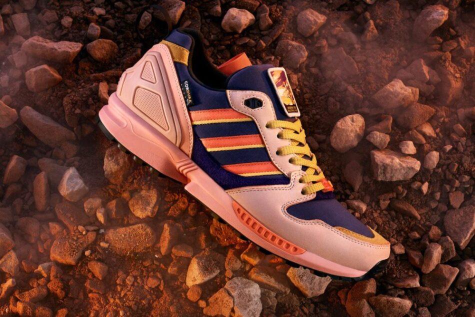 Кроссовки Adidas ZX 5000 совместно с National Park Foundation