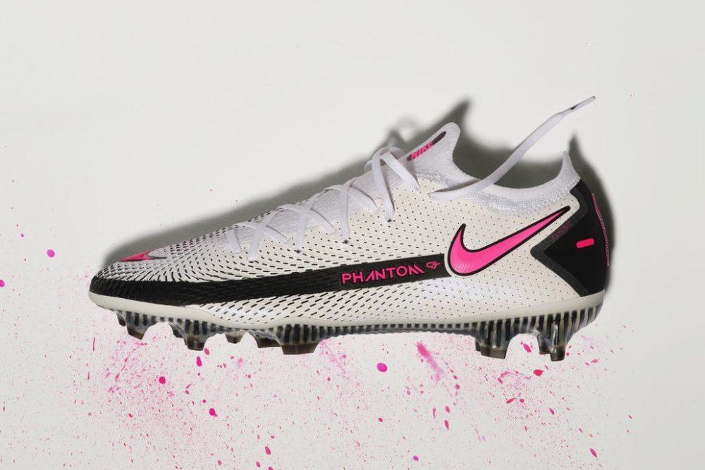 Nike представляет футбольные бутсы Phantom GT на основе данных Nike Sport Research Lab