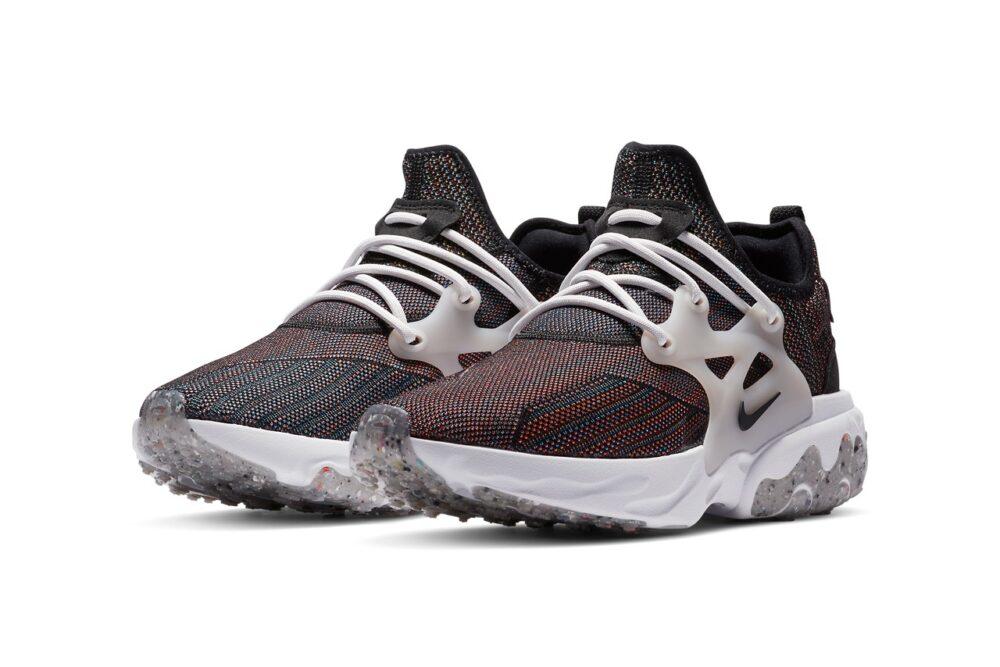 Nike представил кроссовки React Presto Flyknit