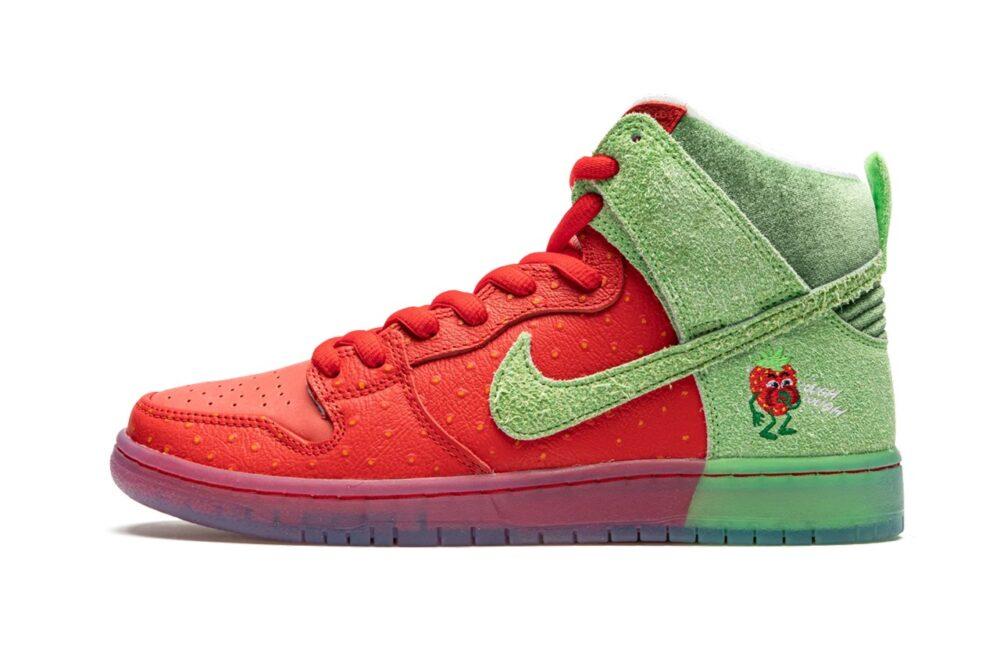 "Кроссовки Nike SB Dunk High ""Strawberry Cough"" выпустят осенью"