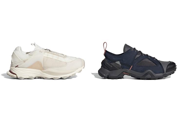 Техничные кроссовки adidas и OAMC Type O-4 и Type O-5