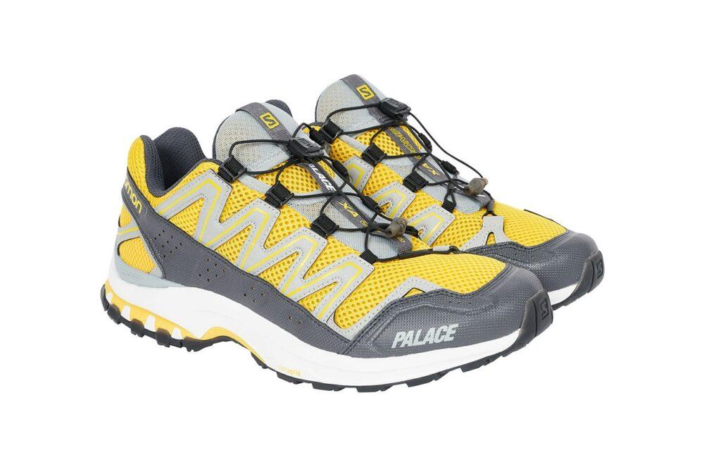 Palace и Salomon воссоединяются в модели XA COMP ADV. Технические кроссовки в цветах, вдохновленных скейтом 90-х