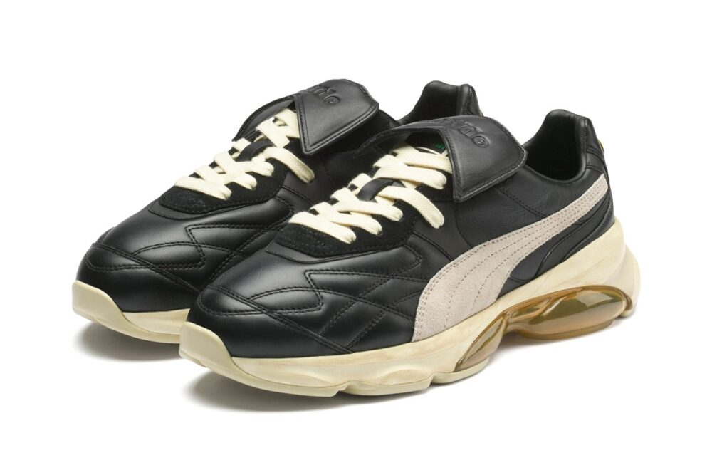 Совместные кроссовки RHUDE и PUMA - Cell King. Сочетание роскошной кожи футбольных бутс с уникальной амортизацией CELL