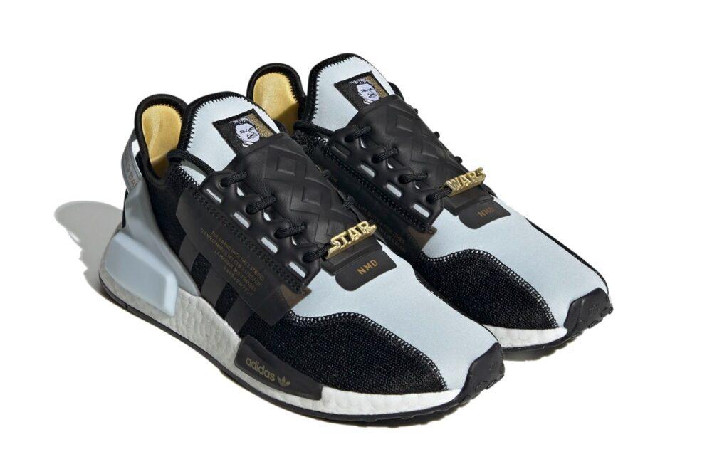 Кроссовки Adidas NMD R1 V2 в честь Lando Calrissian из вселенной Star Wars