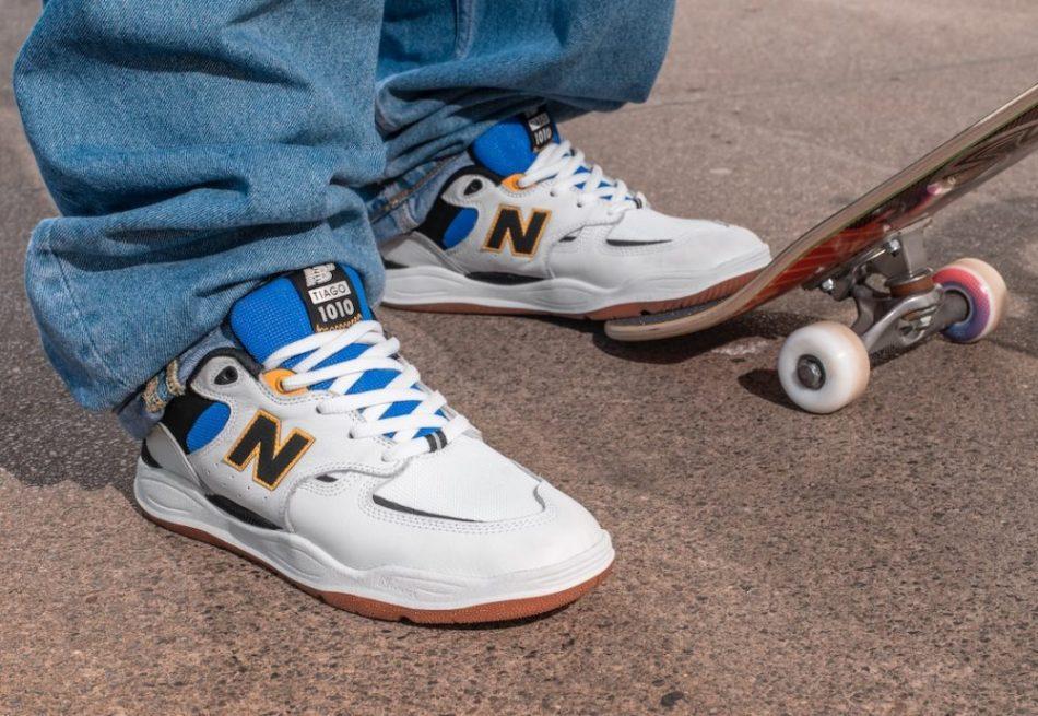 Кроссовки New Balance Numeric 1010 с известным скейтбордистом Tiago Lemos