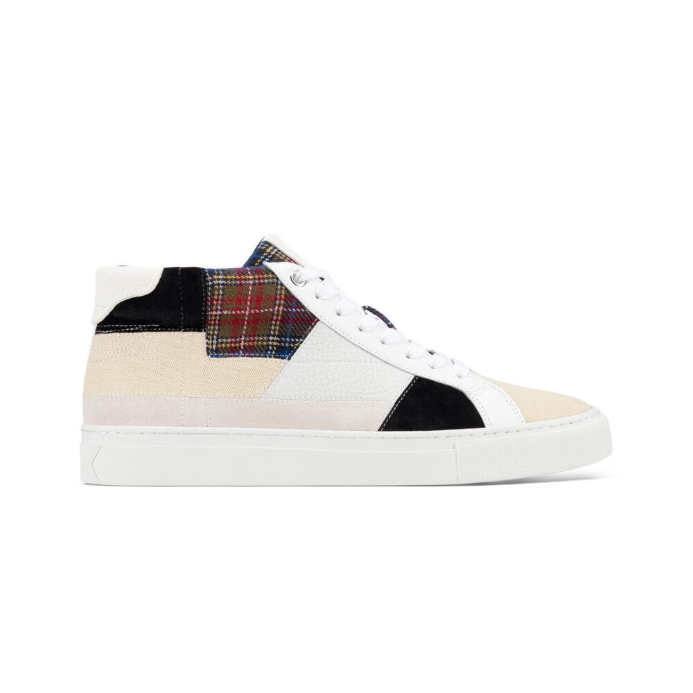 GREATS Royale High Patchwork - первые кроссовки бренда из переработанных материалов