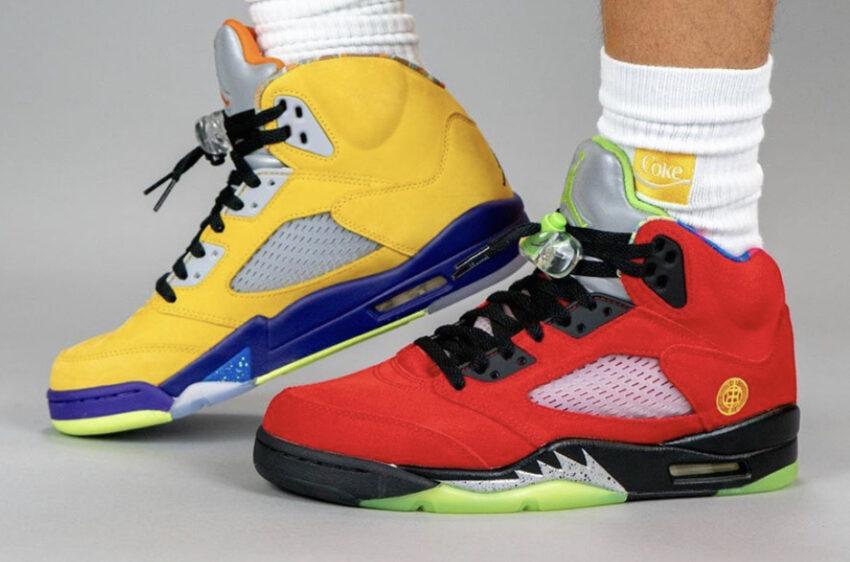 """Разноцветные Air Jordan 5 """"What The"""" в честь 30-летия"""