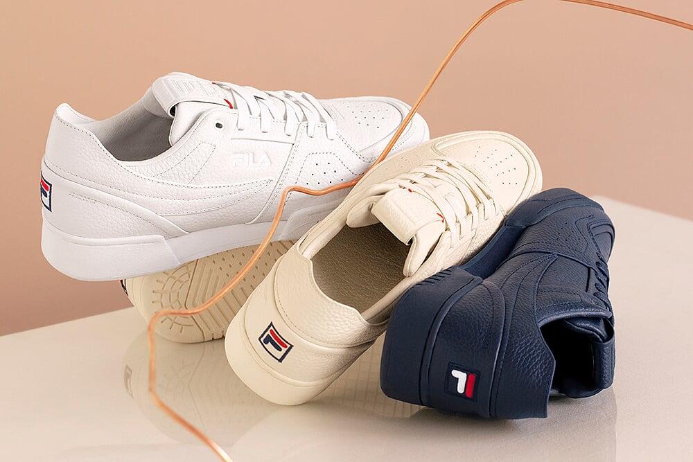 В новые премиальные кроссовки Fila: Original Tennis LX и Centa