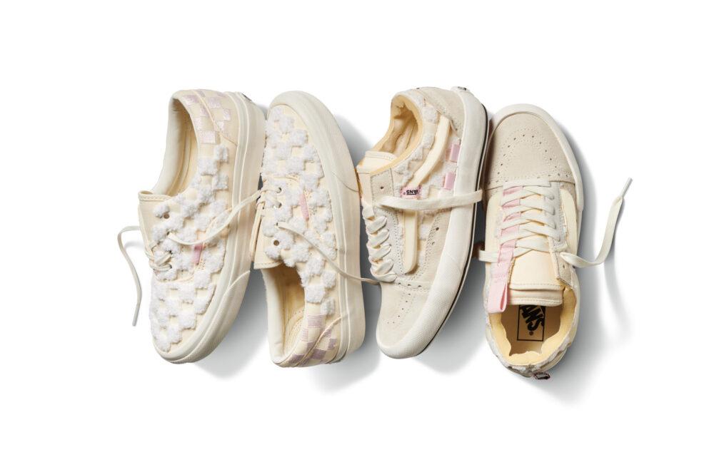 3D-детали и открытые материалы выделяют набор обуви Vans Chenille Pack