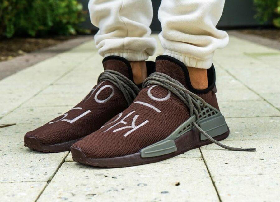 Новая палитра кроссовок Pharrell x adidas NMD Hu Chocolate