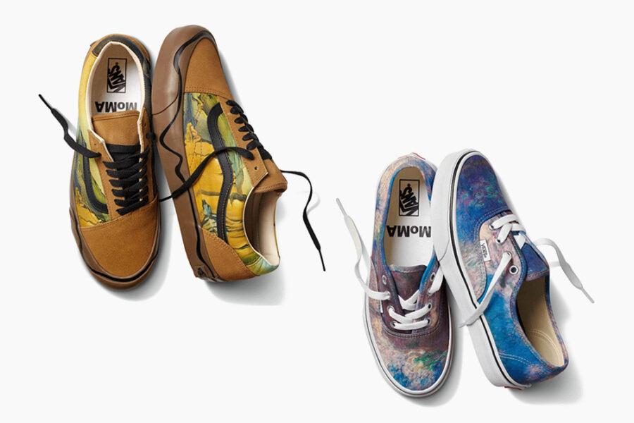 Vans и MoMA объединились для создания коллекции обуви и одежды, вдохновленной Дали, Кандинским и Моне