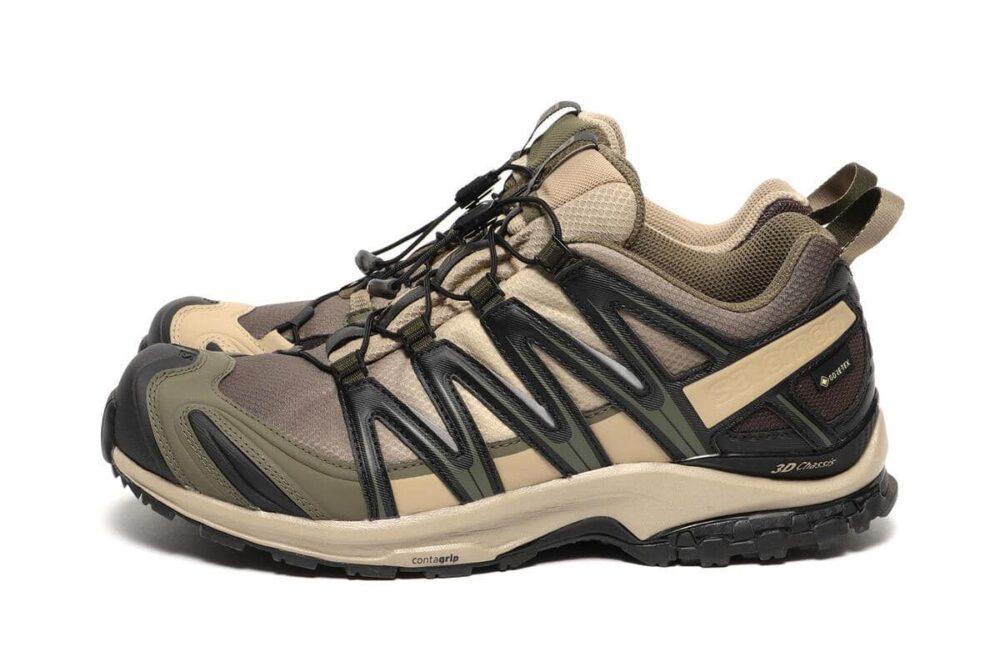 BEAMS и Salomon выпустили технические кроссовки для путешествий XA PRO 3D GTX