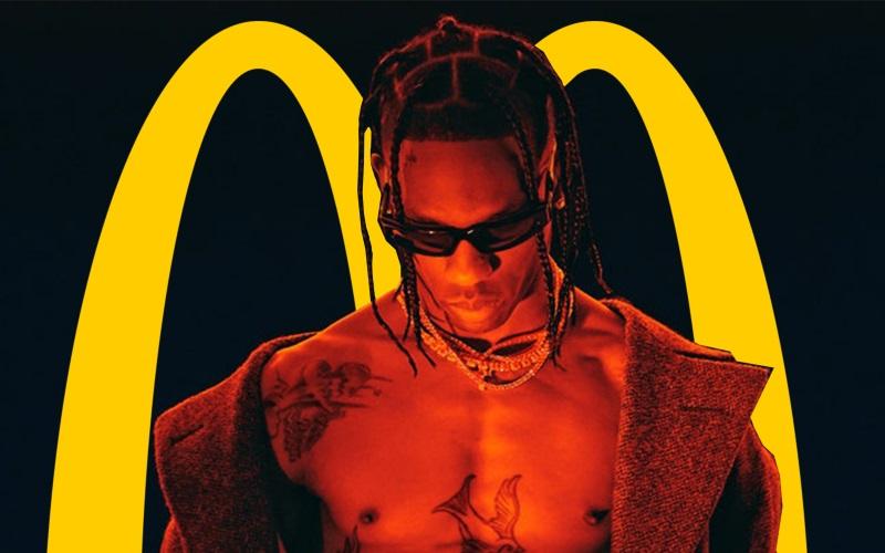 В чем смысл сотрудничества Трэвиса Скотта с McDonald's?