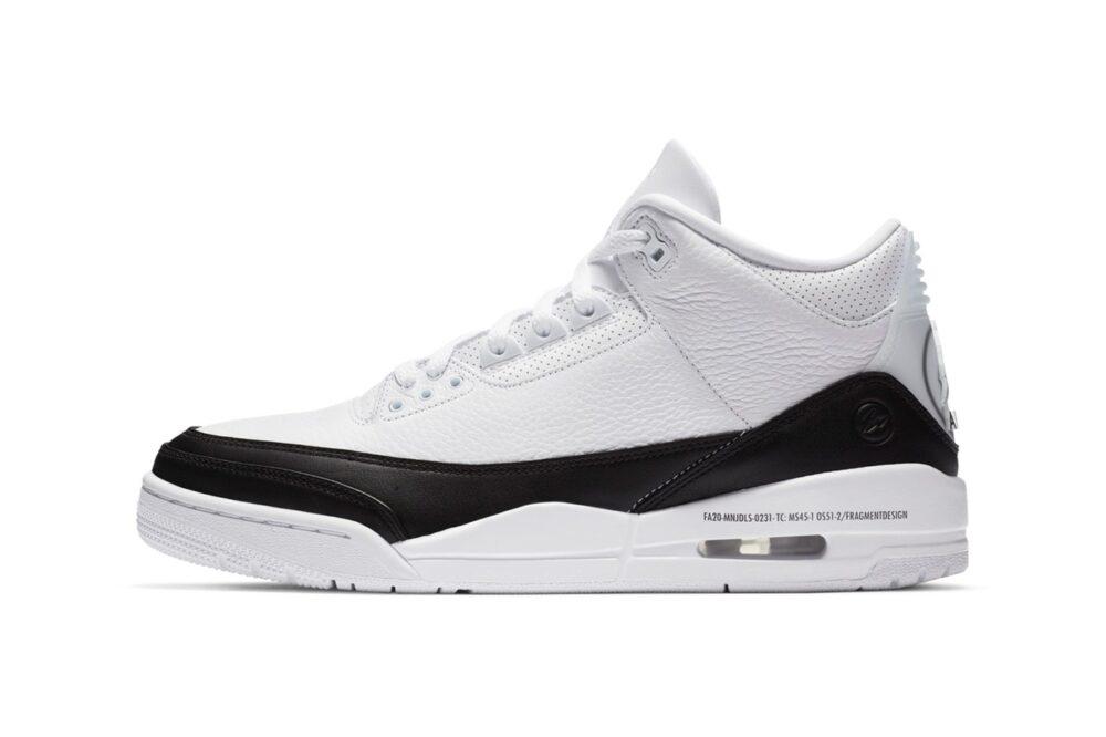 Официальные фото кроссовок fragment design & Air Jordan 3 Retro SP