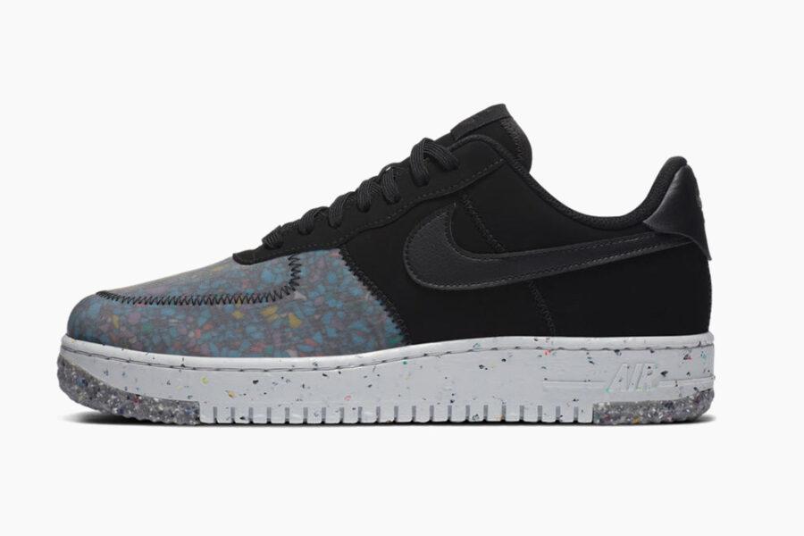 Nike привнесла свою экологичную пену в кроссовки Air Force 1 «Crater»