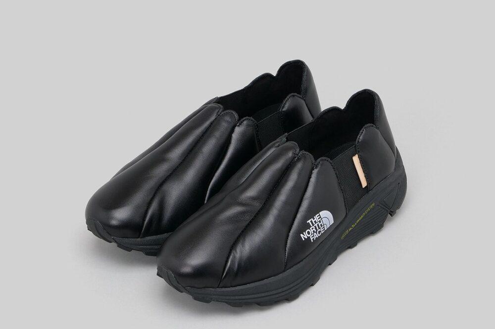 Hender Scheme превращает пуховики North Face Nuptse в массивные кроссовки
