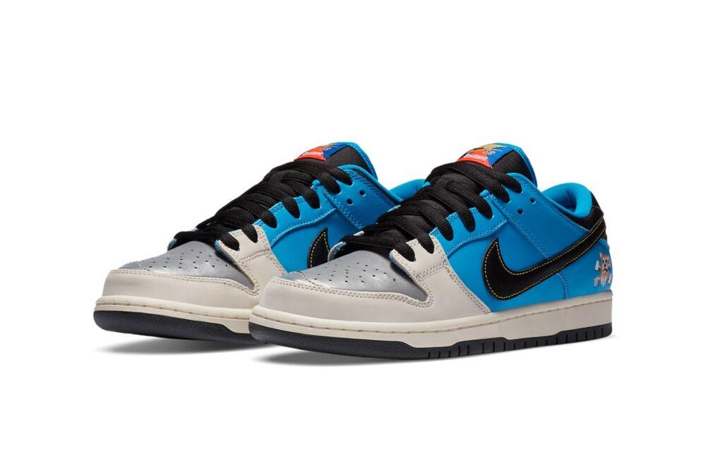 Официальный взгляд на сотрудничество Nike SB Dunk Low и Instant Skateboard
