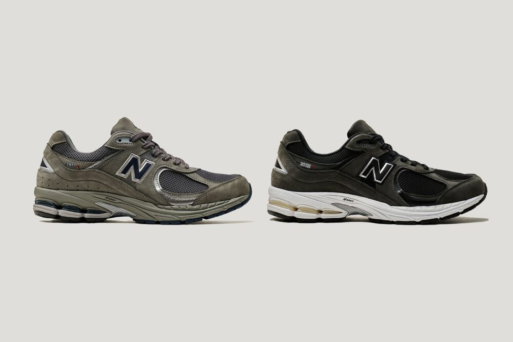 New Balance возрождает свою модель кроссовок 2002 в «сером» и «черном» цвете