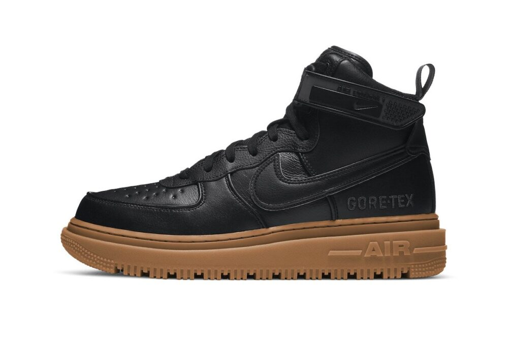 Nike Air Force 1 GORE-TEX «Black Gum»