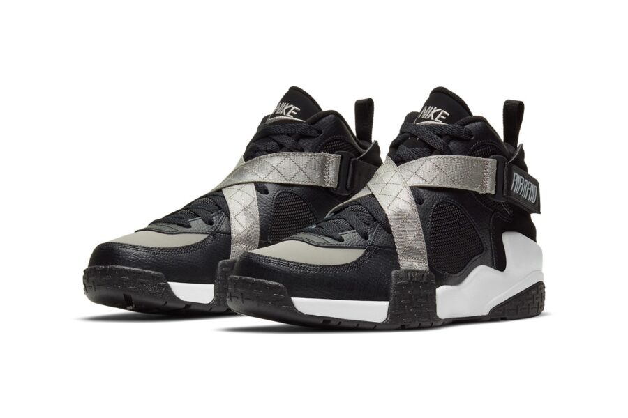 Кроссовки 1992 года - Nike Air Raid возвращаются в черно-сером цвете OG