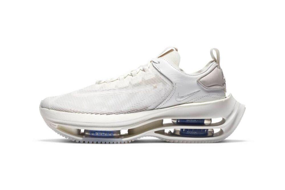 Авангардные кроссовки Nike Zoom Double Stacked «Summit White», помогут вам достичь новых высот