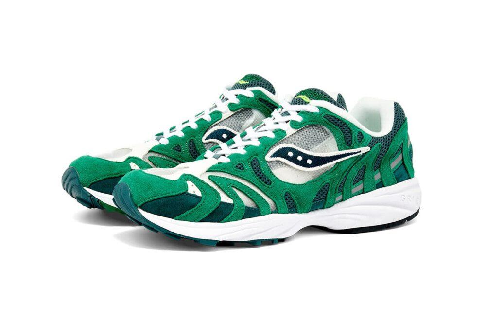 Классические кроссовки для бега Saucony Grid Azura 2000 представлены в трех новых цветовых решениях