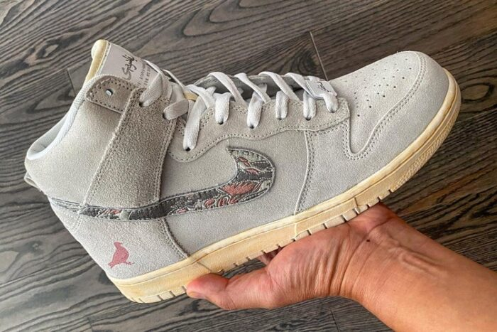 "SBTG и Staple Pigeon создали Nike Dunk High ""Pigeon Fury"""