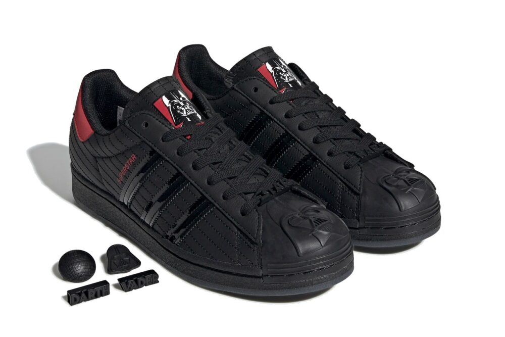 "Кроссовки Star Wars x adidas Originals Superstar ""Darth Vader"""