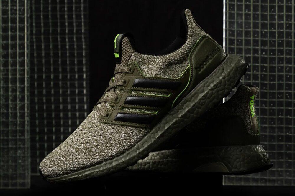 """Adidas UltraBOOST """"Yoda"""" из """"Звездных войн"""" в честь 40-летие «Империя наносит ответный удар»"""