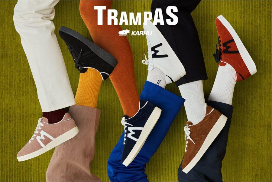Классически кроссовки Karhu Trampas из 60-х годов