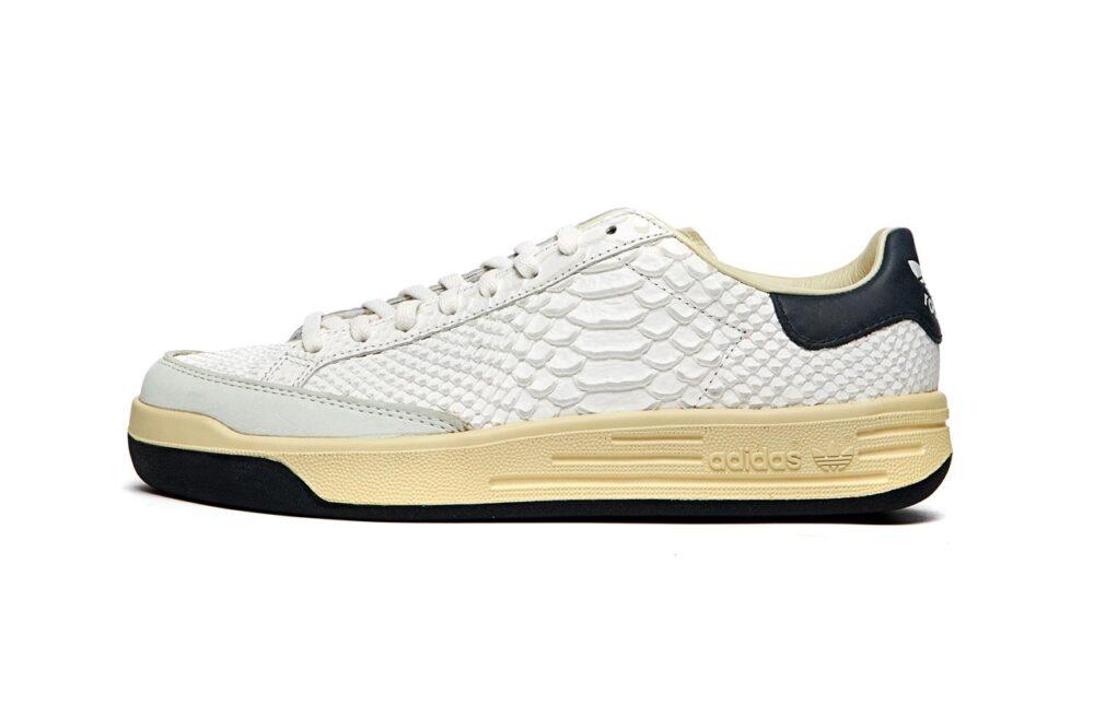 Кроссовки Adidas Consortium Rod Laver из премиальных текстур