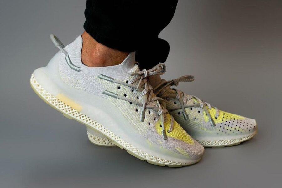 Adidas представил новые футуристичные кроссовки IIM 4D