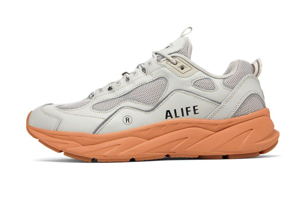 Кроссовки Alife & FILA Trigate со светоотражателями в сером цвет