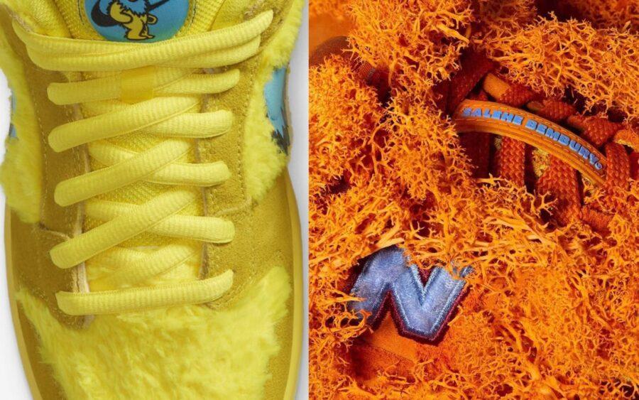 Тренд на пушистые shaggy кроссовки