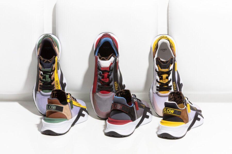 Новые кроссовки Fendi Flow - сочетание роскоши и технологичности
