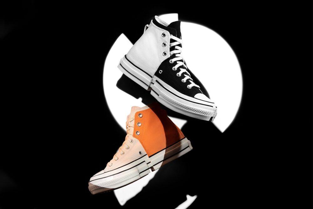 Кроссовки Feng Chen Wang x Converse Chuck 70 «2-in-1». Удвоенная верхняя часть и подошва