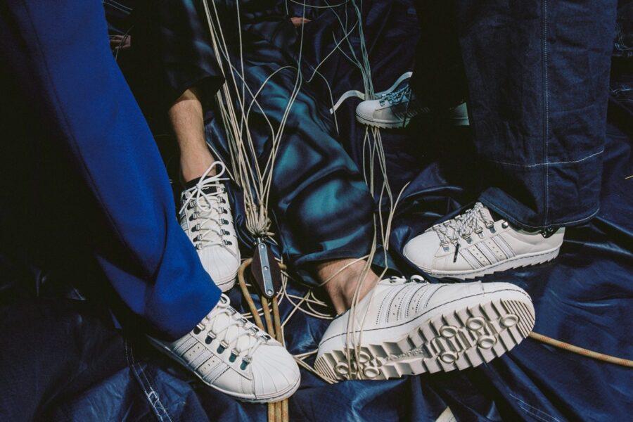 """Чешский магазин Footshop представил свою версию Adidas Superstar""""Blueprinting"""""""