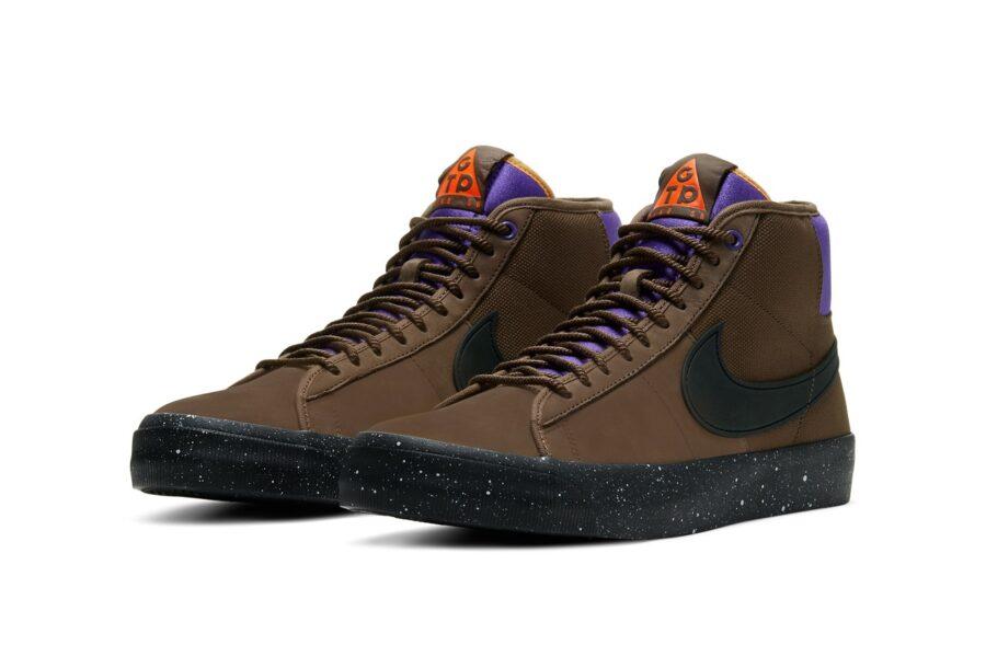 Кроссовки Nike SB Zoom Blazer Mid Pro GT & Grant Taylor